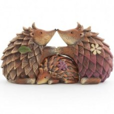 Woodland Hedgehog Family Ornament